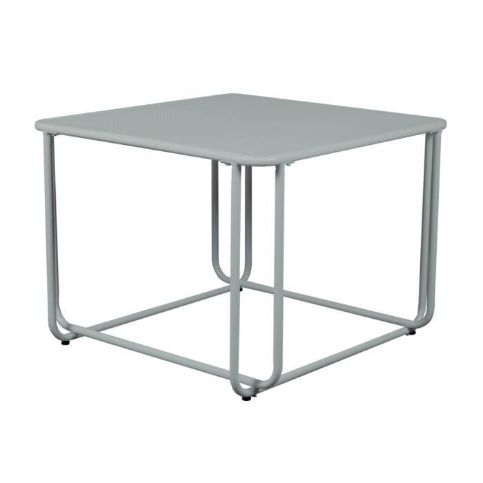 Table basse carree metal achat vente table basse for Table basse carree pas cher