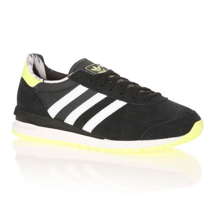 Et Baskets Marathon Noir Femme Jaune Blanc Fluo Originals Adidas qY14SwxRY
