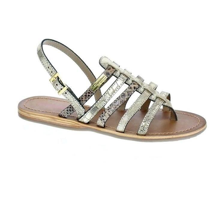 Chaussures Sandales Les Or Modèle Belinda Achat Tropeziennes Femme xdWoeQCErB