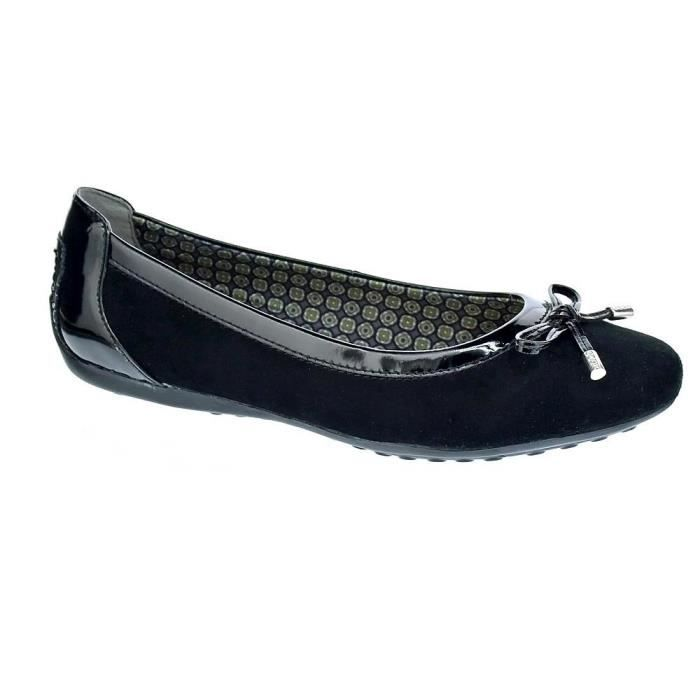8f71dedd257312 Geox Chaussures Ballerine femmes modèle Piuma24859_78606 Noir Noir ...
