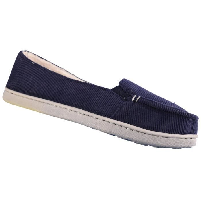 Comfort Walking Cute Flat Loafer ETEUX Taille-40 PoZ9O