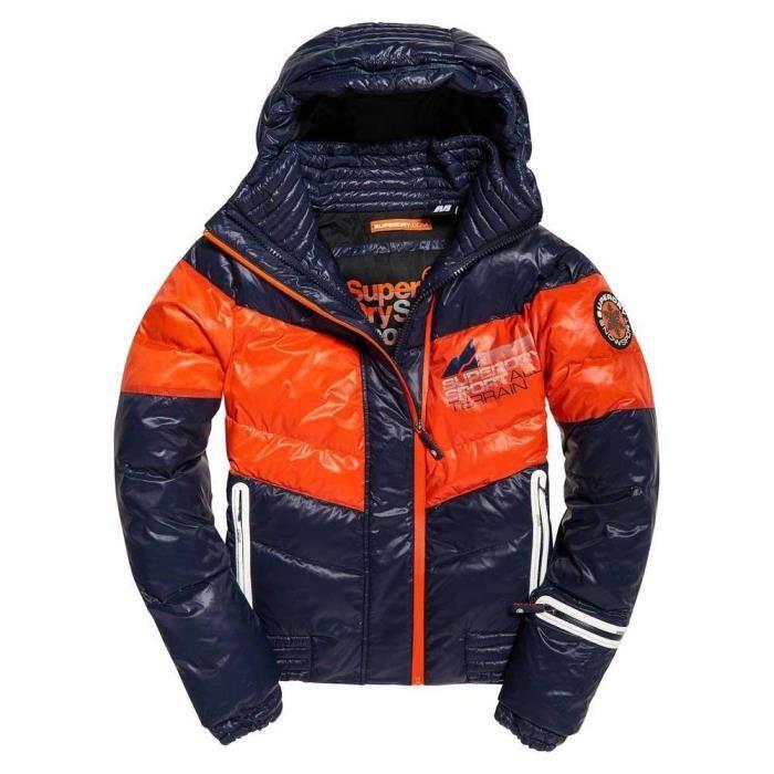 Vêtements Prix Superdry Puffer Terrain Snow Homme Down Pas Vestes 4xF6Ar40O