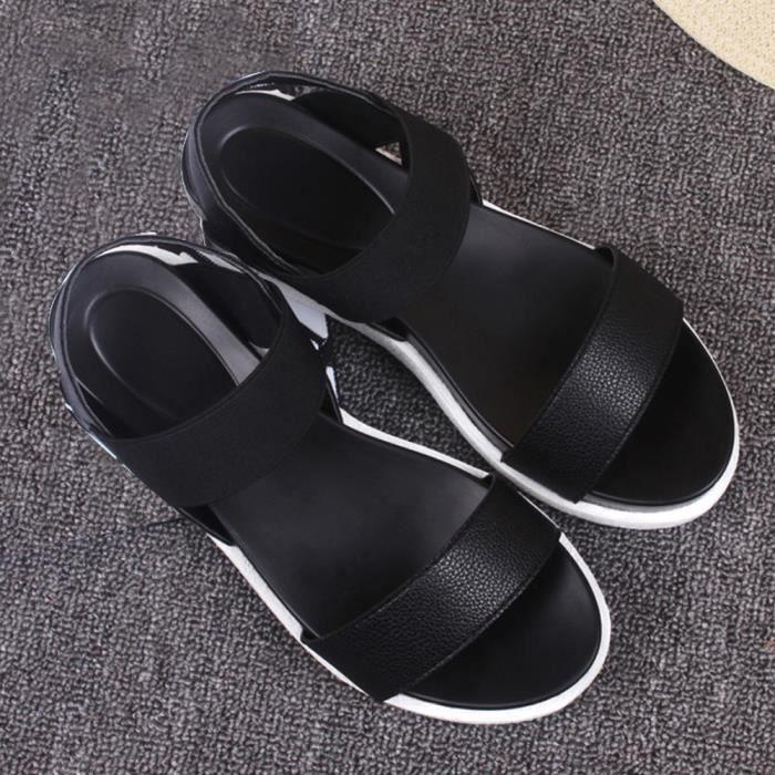 toe Dames Sandales Spartiates Femmes Chaussures D'été Bas Des Tongs Peep ASqOX8w