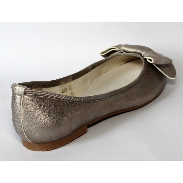 BALLERINES CHAUSSURES FEMME CUIR LUXE T 36