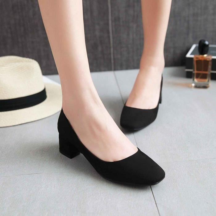 Chaussure Femmes Mode Solide Confortable Causale À talon plat