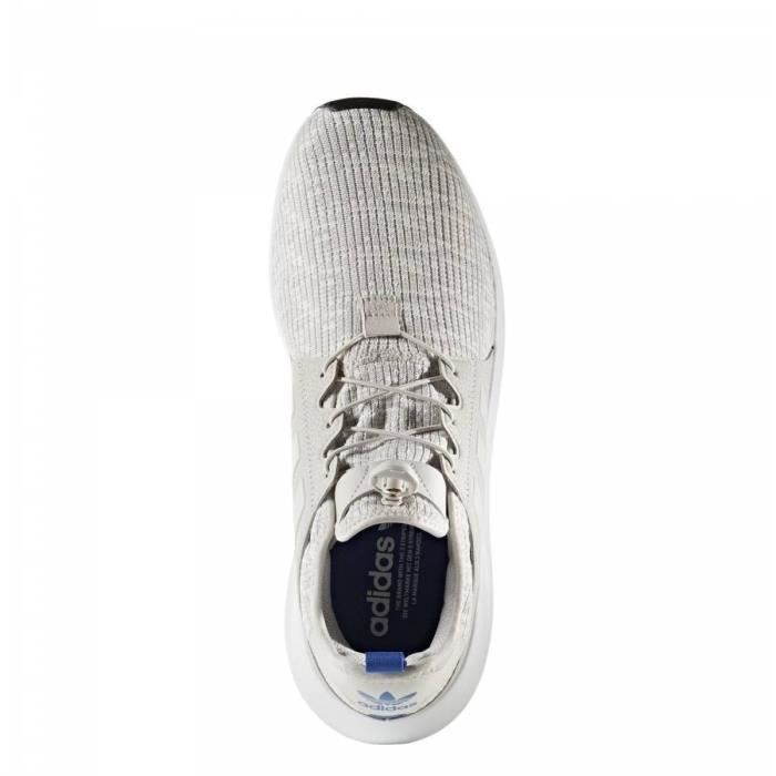 Baskets ADIDAS X PLR toile Homme-44-Gris IW9dvNd