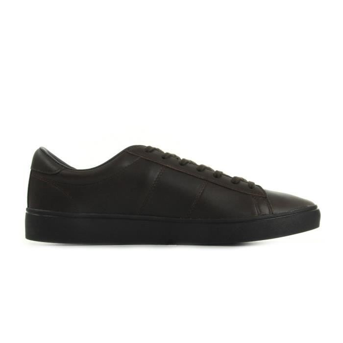 Baskets Fred Perry Spencer Leather Dark Choco