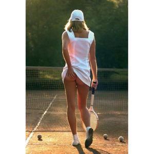 AFFICHE - POSTER Jolies Filles Poster - Fille Tennis, Arrière-Pl…