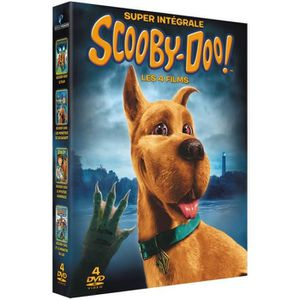 DVD DESSIN ANIMÉ DVD Super intégrale Scooby-Doo! - Les 4 films