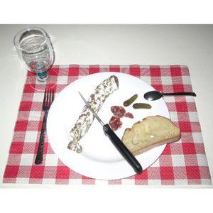 12 sets de table bistrot vichy papier gaufré 30 x 40 cm U ...