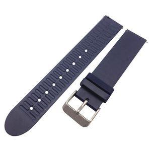 BRACELET DE MONTRE Nouvelle bande de courroie de bracelet de silicone