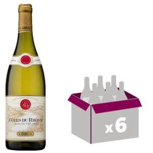 VIN BLANC 6x Côtes du Rhône E.Guigal (vin blanc)