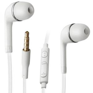 KIT BLUETOOTH TÉLÉPHONE Ecouteur stereo micro Blanc pour Samsung S 6 Edge