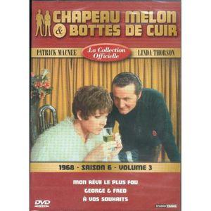 DVD SÉRIE Chapeau melon et bottes de cuir S6 V3 1968 -Mon rê