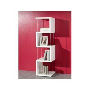 Étagère design Milano blanc L   Achat / Vente meuble étagère