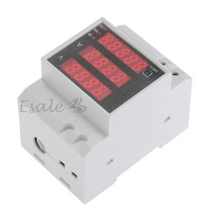 MULTIMÈTRE 3en1 Ampèremètre Voltmètre Wattmètre Test Affichag