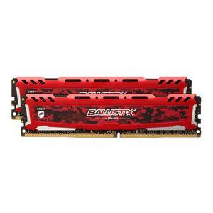 MÉMOIRE RAM Mémoire CRUCIAL 16GB Kit (8GBx2) DDR4 2666 MT/s (P