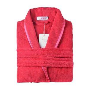 PEIGNOIR [rouge] Femmes Peignoirs en coton Robe de nuit dou