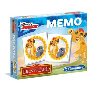 TABLE JOUET D'ACTIVITÉ CLEMENTONI Mémo La garde du Roi Lion