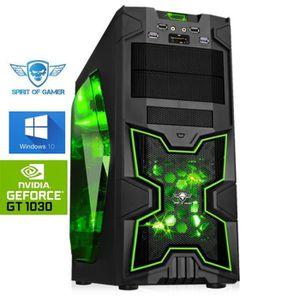 UNITÉ CENTRALE  PC Gamer Army AMD FX 8350 8x4,20Ghz GeForce GT1030