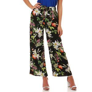 fe0117f91561 Pantalon fluide femme taille elastiquee - Achat   Vente pas cher