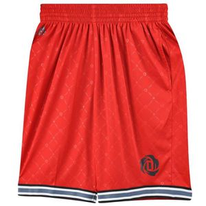 brand new f2ccb dc9bb SHORT Rose Every Homme Short Basket Rouge Adidas