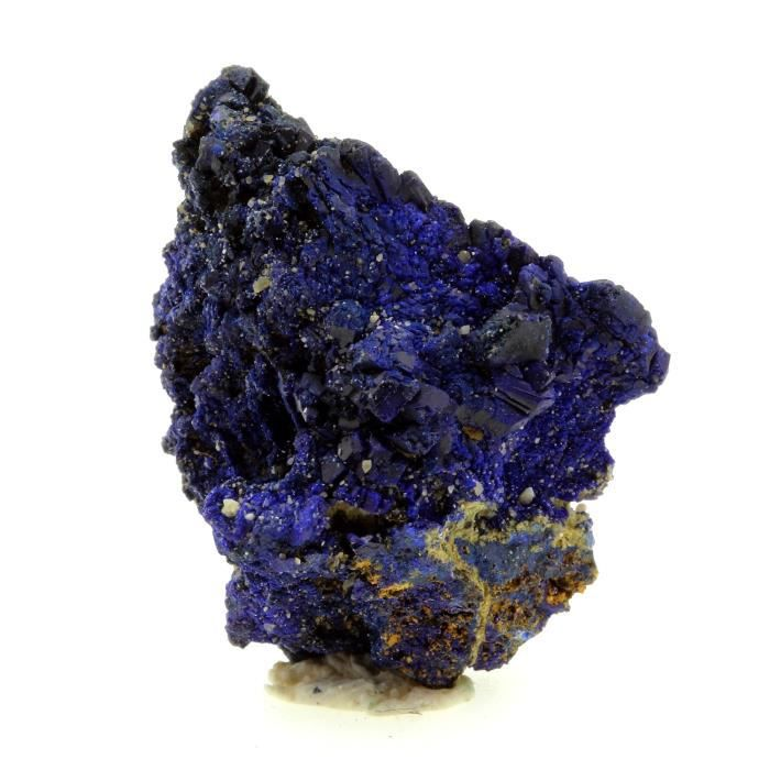 Pierre -Chessylite ( Azurite ). 46.11 ct. Chessy-les-Mines, Rhône, France. Rare
