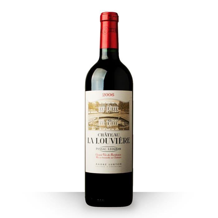 ch teau la louvi re 2006 rouge 75cl aoc pessac l ognan vin rouge achat vente vin rouge la. Black Bedroom Furniture Sets. Home Design Ideas