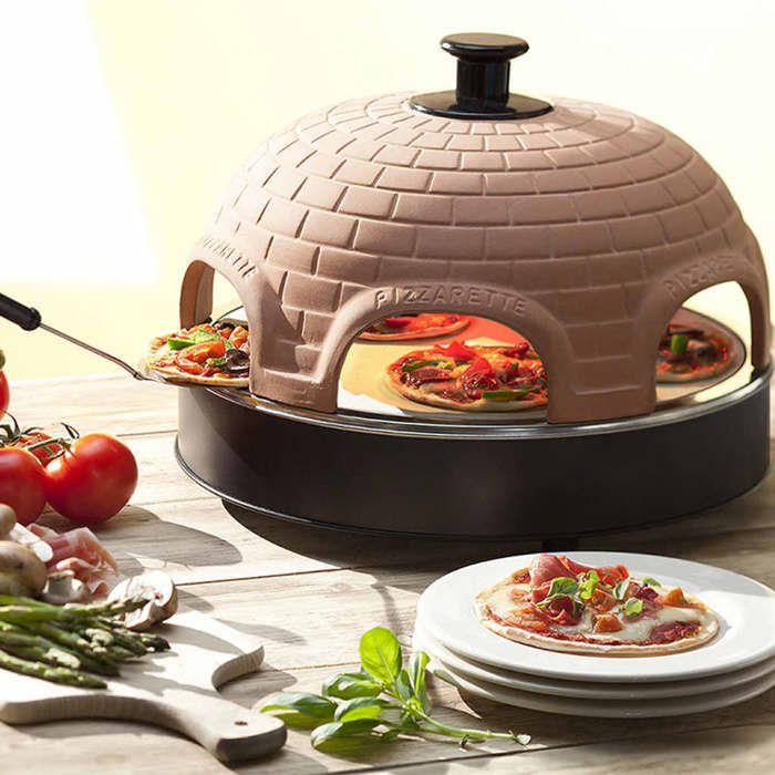 emerio pizzarette pizza four pizza 4 personnes achat. Black Bedroom Furniture Sets. Home Design Ideas