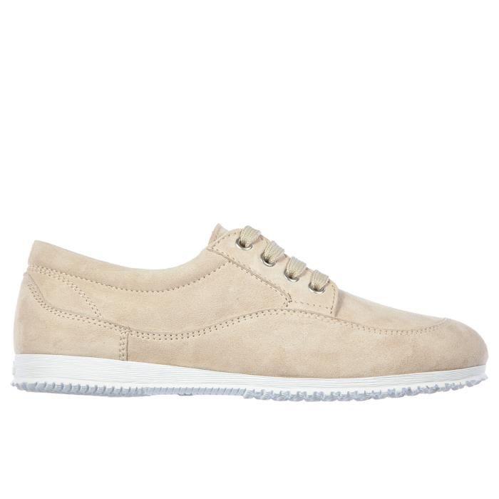Chaussures baskets sneakers femme en cuir traditional Hogan