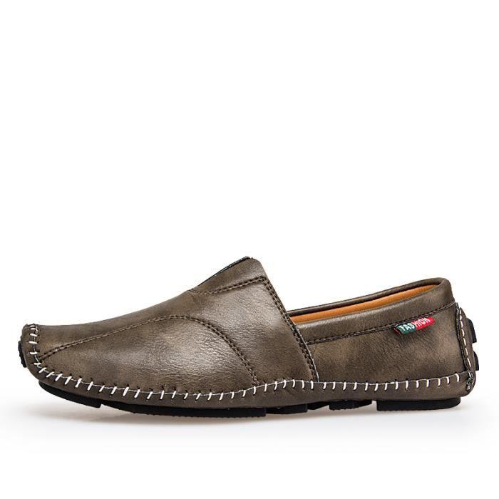 Chaussures Homme Bateau en cuir Chaussures de ville Chaussures plates Chaussures confortables et légères Chaussures originales en 7IEuUeUk3