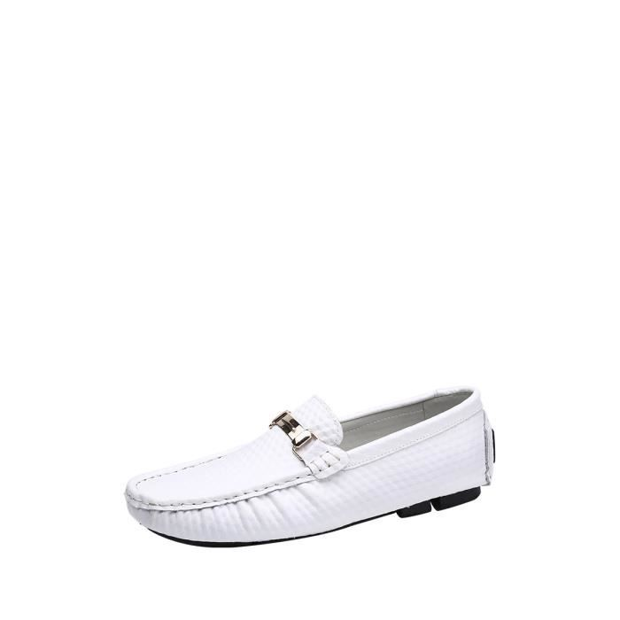 Hommes Mocassins Casual Solide Couleur Comfy Soles Chaussures 10941788 v6yVK1K