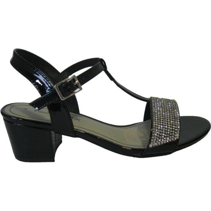 Sandales noires pour femmes