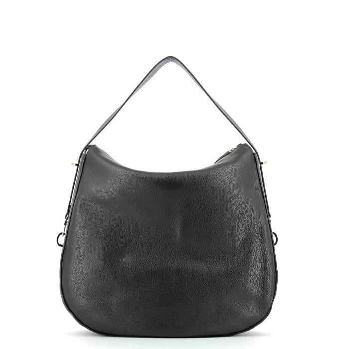 Coccinelle - Sac épaule in leather - AE0130201-NOIR-UN - NOIR