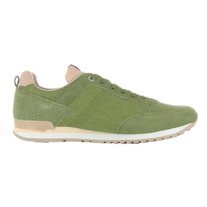 Colmar TRAVISOLIVE 010 chaussures pour hommes vert et sable 4GhFnEYYU