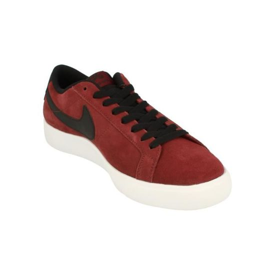 size 40 3e460 c4648 Nike Sb Blazer Vapor Hommes Trainers 878365 Sneakers Chaussures 601 Rouge -  Achat   Vente basket - Cdiscount