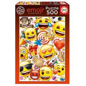PUZZLE EDUCA - Puzzle EMOJI 500 pcs