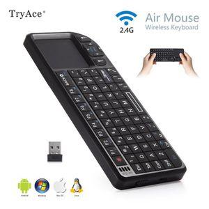 ÉCRAN VIDÉOSURVEILLANCE 2. 4 G Portable Mini clavier sans fil souris PC HT
