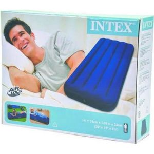 LIT GONFLABLE - AIRBED MATELAS APPOINT PNEUMATIQUE GONFLABLE 1 PERSONNE 1