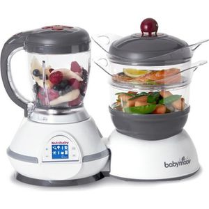 ROBOT BÉBÉ BABYMOOV Robot culinaire bébé Nutribaby Cherry