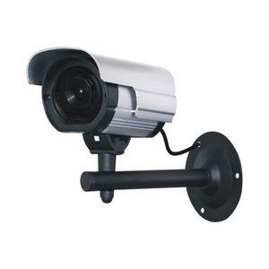 CAMÉRA FACTICE CHACON Caméra de surveillance factice avec Led