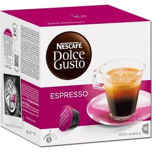 CAFÉ Dolce Gusto Espresso, Nescafé, café, 16 capsules