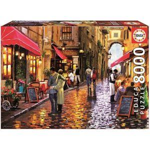 PUZZLE EDUCA Puzzle 8000 Pièces - Café Street