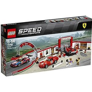ASSEMBLAGE CONSTRUCTION LEGO® Speed Champions 75889 Le stand Ferrari