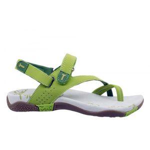 SANDALE - NU-PIEDS Sandale de Marche Femme COIMBRA Vert