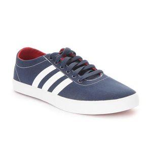 Chaussures Adidas VS Pace Bleu Bleu - Achat / Vente basket  - Soldes* dès le 27 juin ! Cdiscount