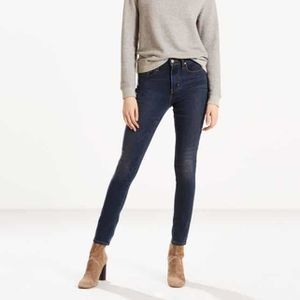 Jean levis femme taille haute skinny