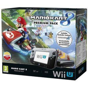 CONSOLE WII U Console Nintendo Wii U + Jeu Super Mario Kart 8 (P