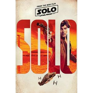 AFFICHE - POSTER Affiche Maxi Solo: A Star Wars Story Solo Teaser