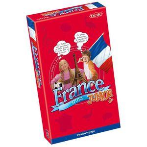 JEU SOCIÉTÉ - PLATEAU France Quiz Junior Voyage